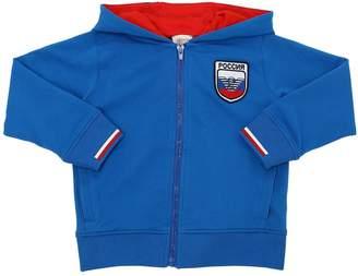 Armani Junior Russia Soccer Team Cotton Sweatshirt