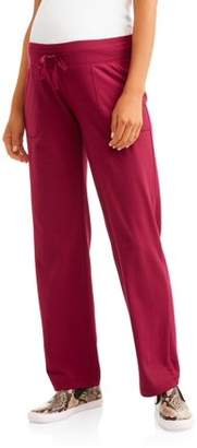 Athletic Works Maternity Narrow Fit Pants
