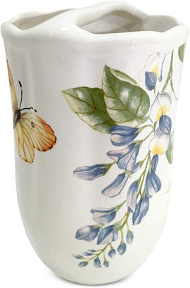 Lenox Blue Floral Garden Toothbrush Holder Bedding