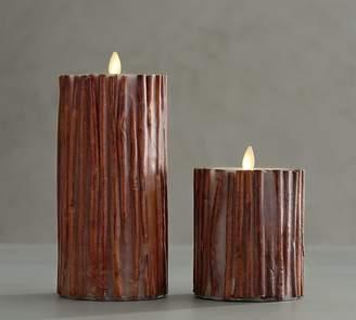 Pottery Barn Premium Flicker Flameless Cinnamon Stick Candle