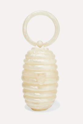 Cult Gaia Devora Acrylic Tote - White