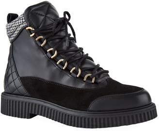 Claudie Pierlot Quilted Leather Boots