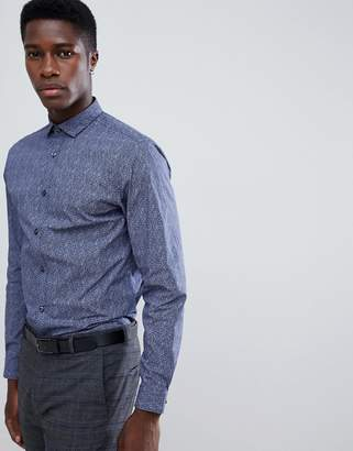 Jack and Jones Slim Fit Long Sleeve Shirt