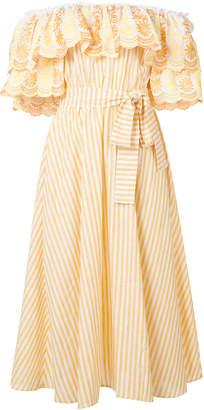 Bardot Gül Hürgel ruffle dress