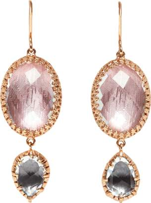 LARKSPUR & HAWK Sadie Oval And Pear Drop Earrings