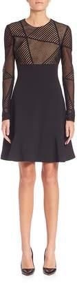 Aquilano Rimondi Women's Geometric Lace Top Dress
