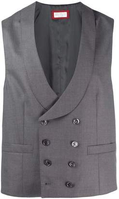 double-breasted waistcoat