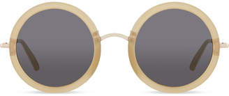 The Row ROW830 signature round sunglasses
