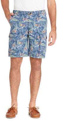 Izod Leafy Cotton Cargo Shorts
