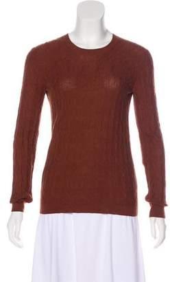 Hermes Textured Long Sleeve Top