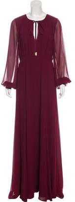Erin Fetherston ERIN by Ruche-Accented Maxi Dress
