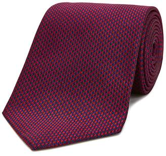 Turnbull & Asser Houndstooth Wide Tie