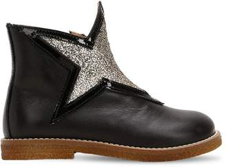Ocra Star Leather Boots
