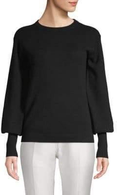 Saks Fifth Avenue Bishop-Sleeve Sweater