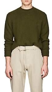 Acne Studios Men's Peele Brushed Wool-Cashmere Sweater - Green