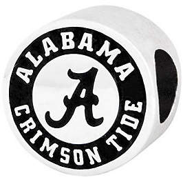 QVC Sterling Silver University of Alabama Bead