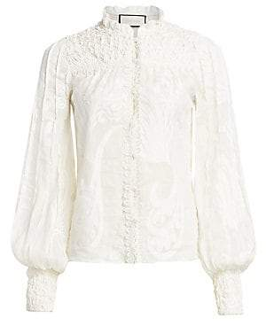 Alexis Women's Bismarck Embroidered Blouse