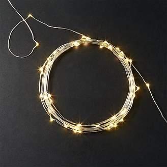 Silver Wire Sprinkle 21' Line Lights