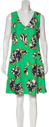 Jonathan Saunders Printed Knee-Length Dress