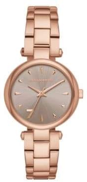 Karl Lagerfeld Aurelie Stainless Steel Bracelet Watch