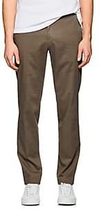 Hiltl Men's Parma Cotton Straight Trousers-Beige, Khaki Size 40