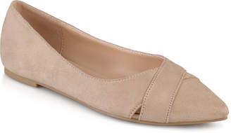 Journee Collection Womens Winslo Ballet Flats Pointed Toe