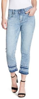 Seven7 Booty Shaper Crop Skinny Jeans