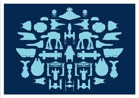 Hybrid-Home Spaceship Limited Edition Print