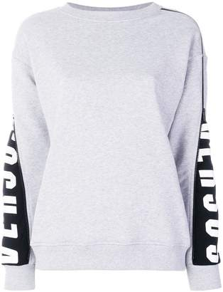 Versus zipped sleeve sweatshirt