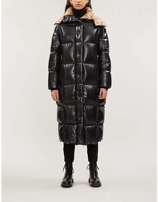 Moncler Parnaiba hooded nylon coat