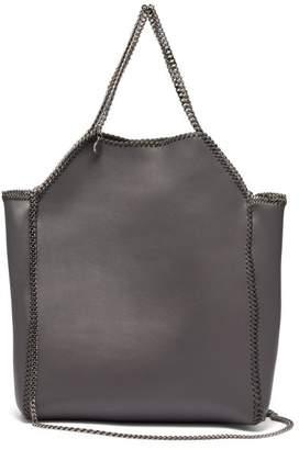 Stella McCartney Falabella Mini Faux Leather Tote Bag - Womens - Grey