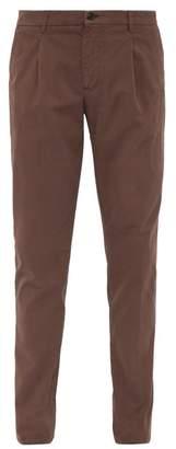 Altea Stretch Cotton Chinos - Mens - Brown