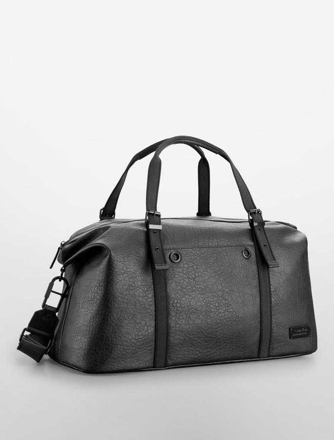 Calvin Klein Owen Textured Weekender Bag