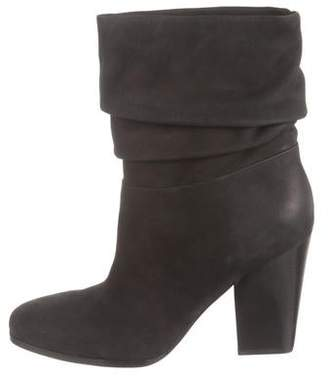 Sigerson Morrison Suede Mid-Calf Boots