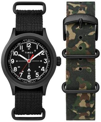 Todd Snyder Timex + The Military Watch in Black