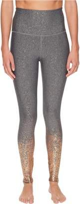 Beyond Yoga Women's Alloy Ombre High-Waisted Midi Leggings
