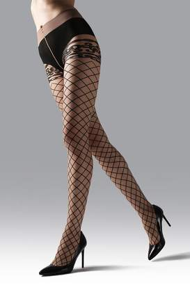 Natori Scroll Sheer Tights
