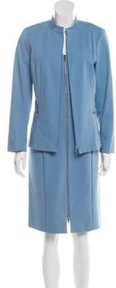 Lafayette 148 Zip-Up Dress Set