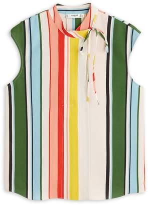 MANGO Multicolour Patterned Blouse