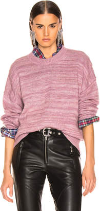 Etoile Isabel Marant Gatliny Sweater in Dusty Pink | FWRD