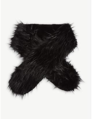FUZZ NOT FUR Faux-fur chubaba scarf