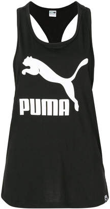 Puma logo print vest