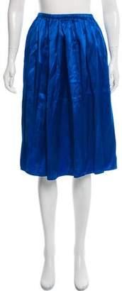 Acne Studios Satin Mini Skirt