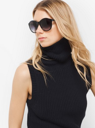 Michael Kors Mae Round Sunglasses