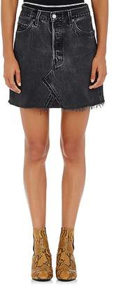RE/DONE Women's High Rise Levi's® Miniskirt