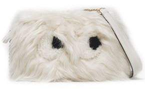 Anya Hindmarch Shearling Shoulder Bag