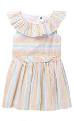 Petit Lem Dream Catcher Stripe Dress (Little Girls)