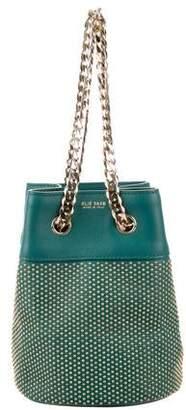 Elie Saab Studded Leather Bag