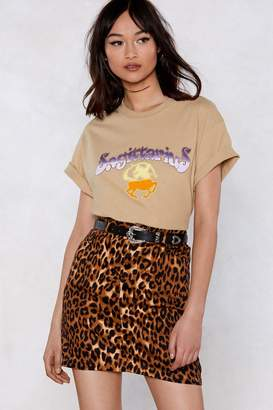 Nasty Gal Animal Instincts Leopard Skirt