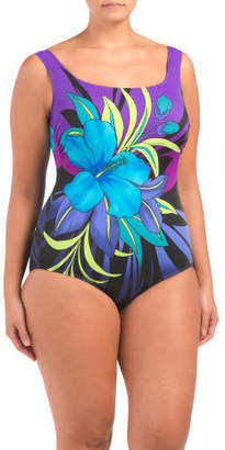 Plus Tropical Pinata One-piece Swimsuit